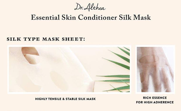 Premium DR. ALTHEA™ Essential Skin Conditioner Silk Mask (5pcs)