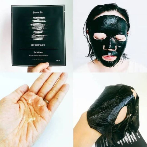 DR. ALTHEA™ Pore-Control Charcoal Mask (5pcs)
