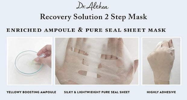 DR. ALTHEA™ Recovery Solution 2 Step Mask (4 pack)