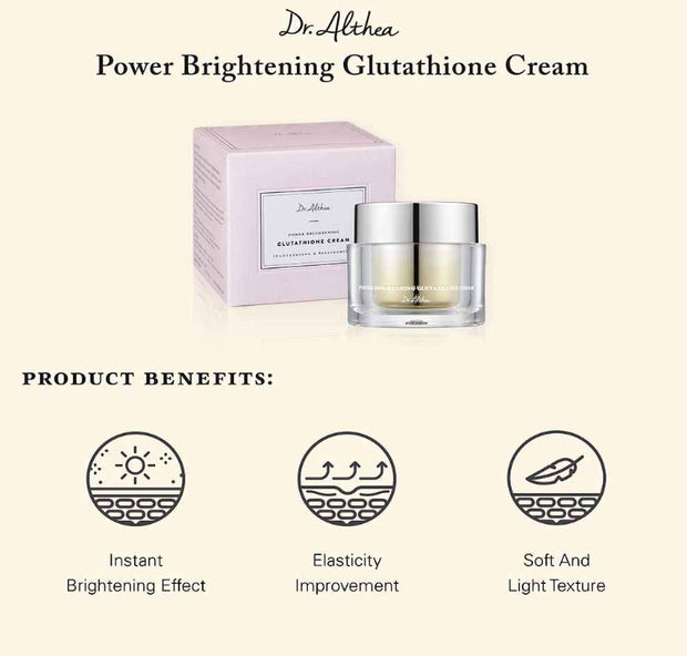 DR. ALTHEA™ Power Brightening Glutathione Cream