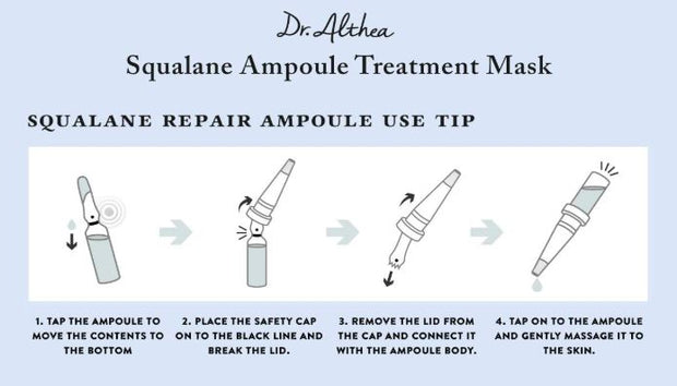 DR. ALTHEA™ Squalane Ampoule Treatment Mask (5 pack)