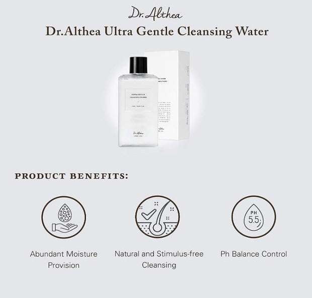 DR. ALTHEA™ Ultra Gentle Cleansing Water