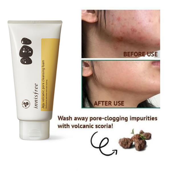 INNISFREE™ Jeju Volcanic Pore Cleansing Foam