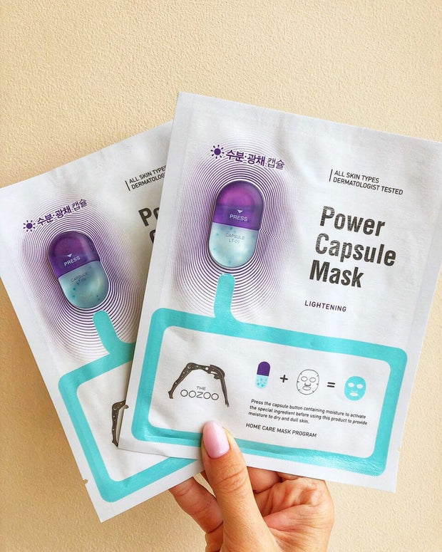 OOZOO™ Power Capsule Mask Lightening