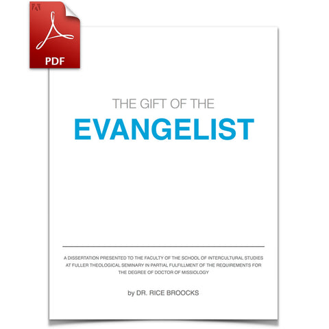 The Gift of the Evangelist (Download)