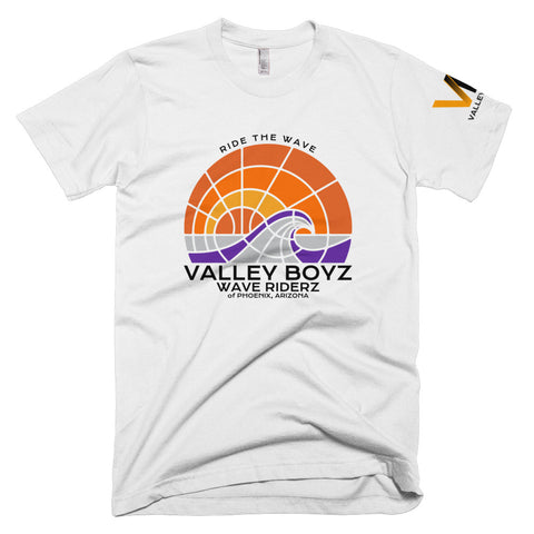 Valley Boyz Shirt - Wave Riderz - Black Text - Premium - Valley-Boyz.com