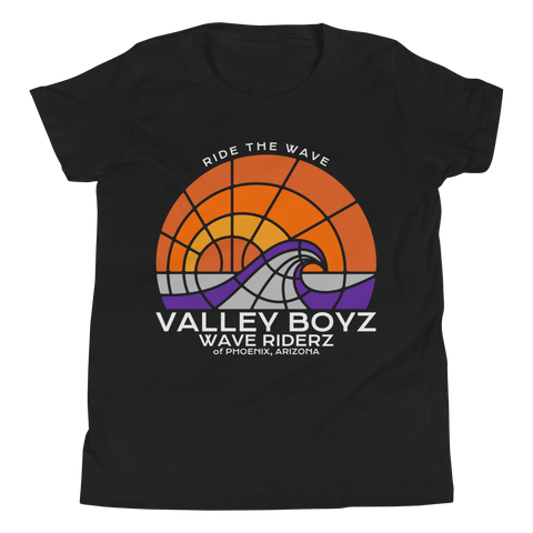 Valley Boyz Shirt - Wave Riderz Kidz Tee - Premium - Valley-Boyz.com