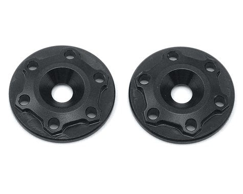 "Aluminum B6/B6D ""Finnisher"" Wing Buttons (Black) (2)"