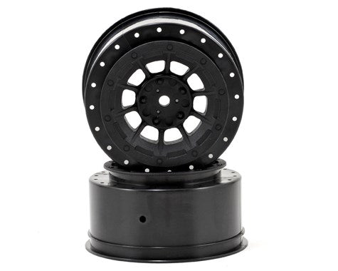12mm Hex Hazard Short Course Wheels w/3mm Offset (Black) (2) (SC5M)