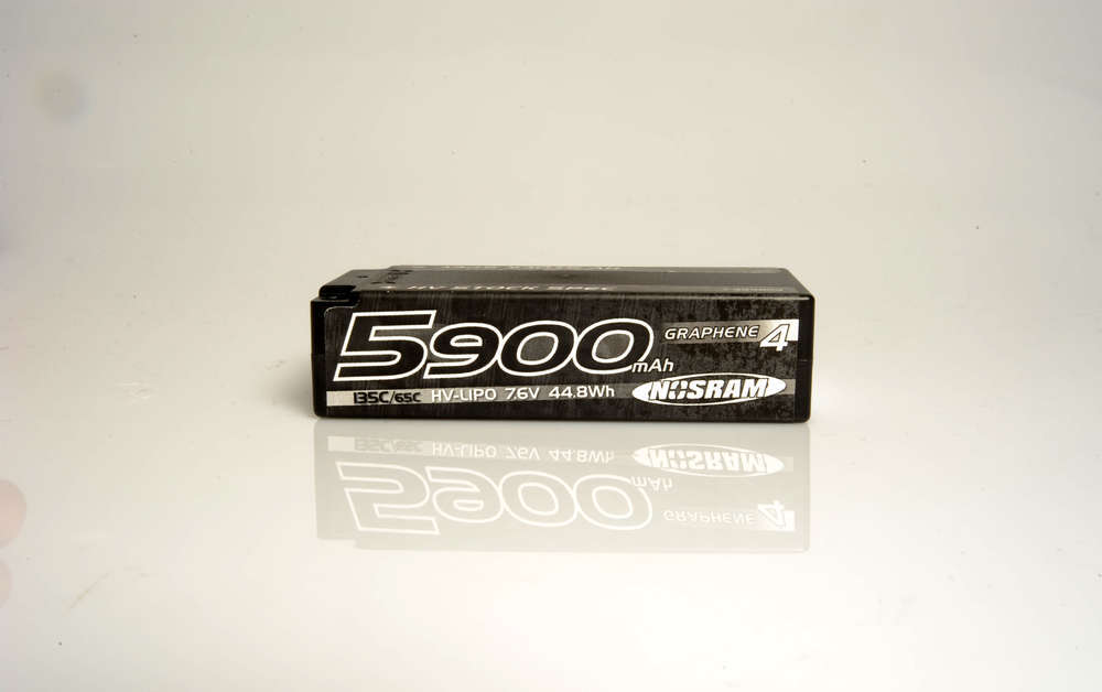 Shorty pack 5900mah Standard height 135c 7.6v