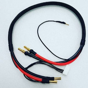Braided 2s 12awg 500mm charge lead