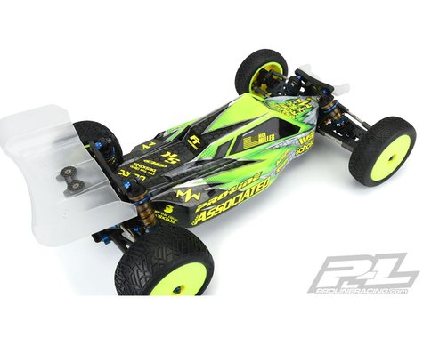 RC10B6.1/B6.1D Axis 2WD 1/10 Buggy Body (Clear) (Light Weight)