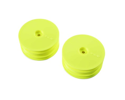22X-4 12mm Hex 4WD Front Buggy Wheels (2) (Yellow)