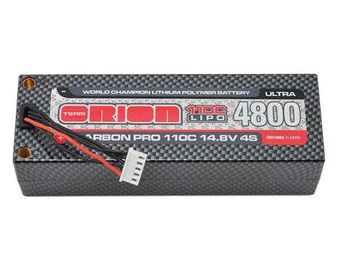 4S Carbon Pro Ultra 110C LiPo Pack Battery (14.8V/4800mAh)