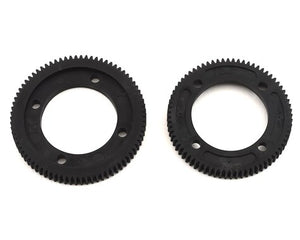 RC10B74 Center Differential Spur Gear Set (72T & 78T)