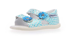 Open Sandals. Fancy Blue