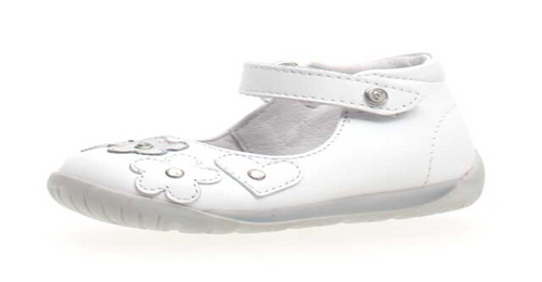 Ballerina Shoes. White Classic
