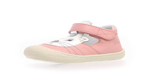 Ballerina Shoes. Peach Kitten