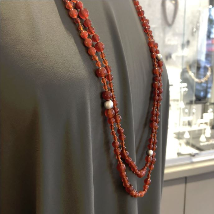 Judi Powers - Carnelian Necklace