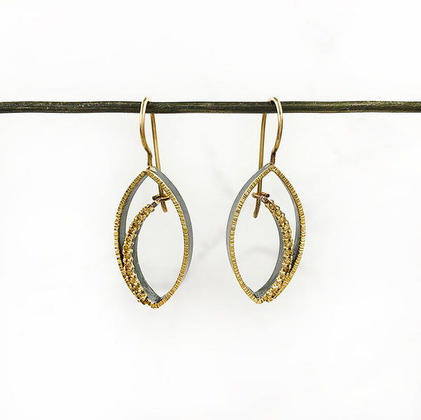 Elizabeth Garvin - Tempest Earrings on Wires