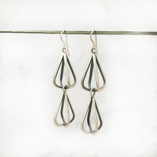 Emily Shaffer - Double Bulb Earrings