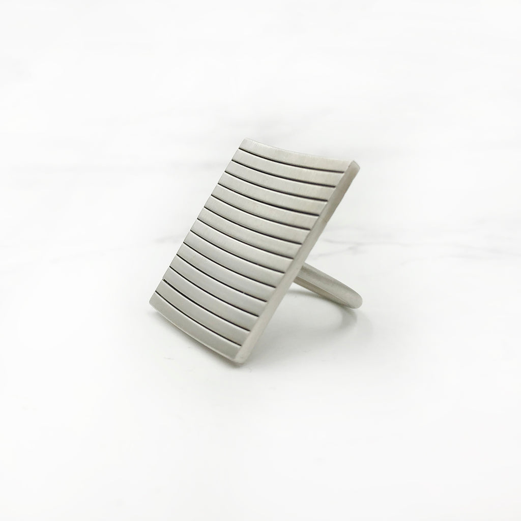 Emily Shaffer  Studio - Large Stacked Ring