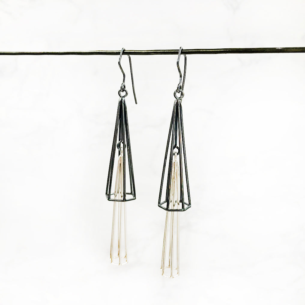 Jera Lodge - Double Chandelier Earrings