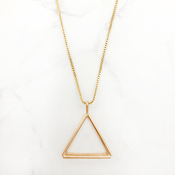 Jera Lodge - Isosceles Triangle Pendant