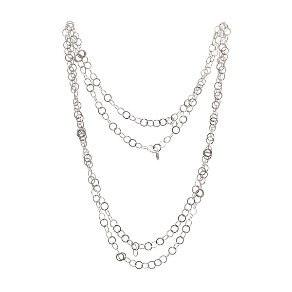 Joanne Thompson - Aday Long Chain Maille Necklace