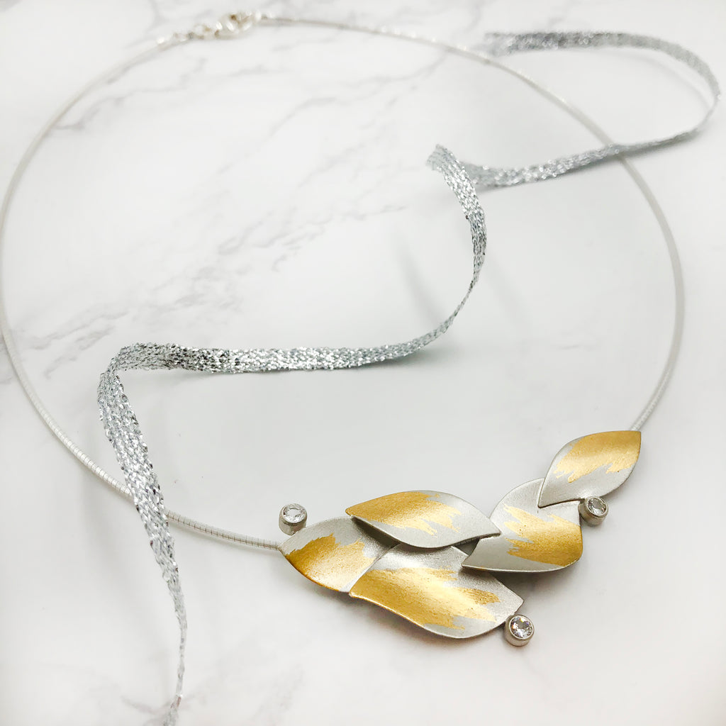 Judith Neugebauer - White Sapphires Necklace