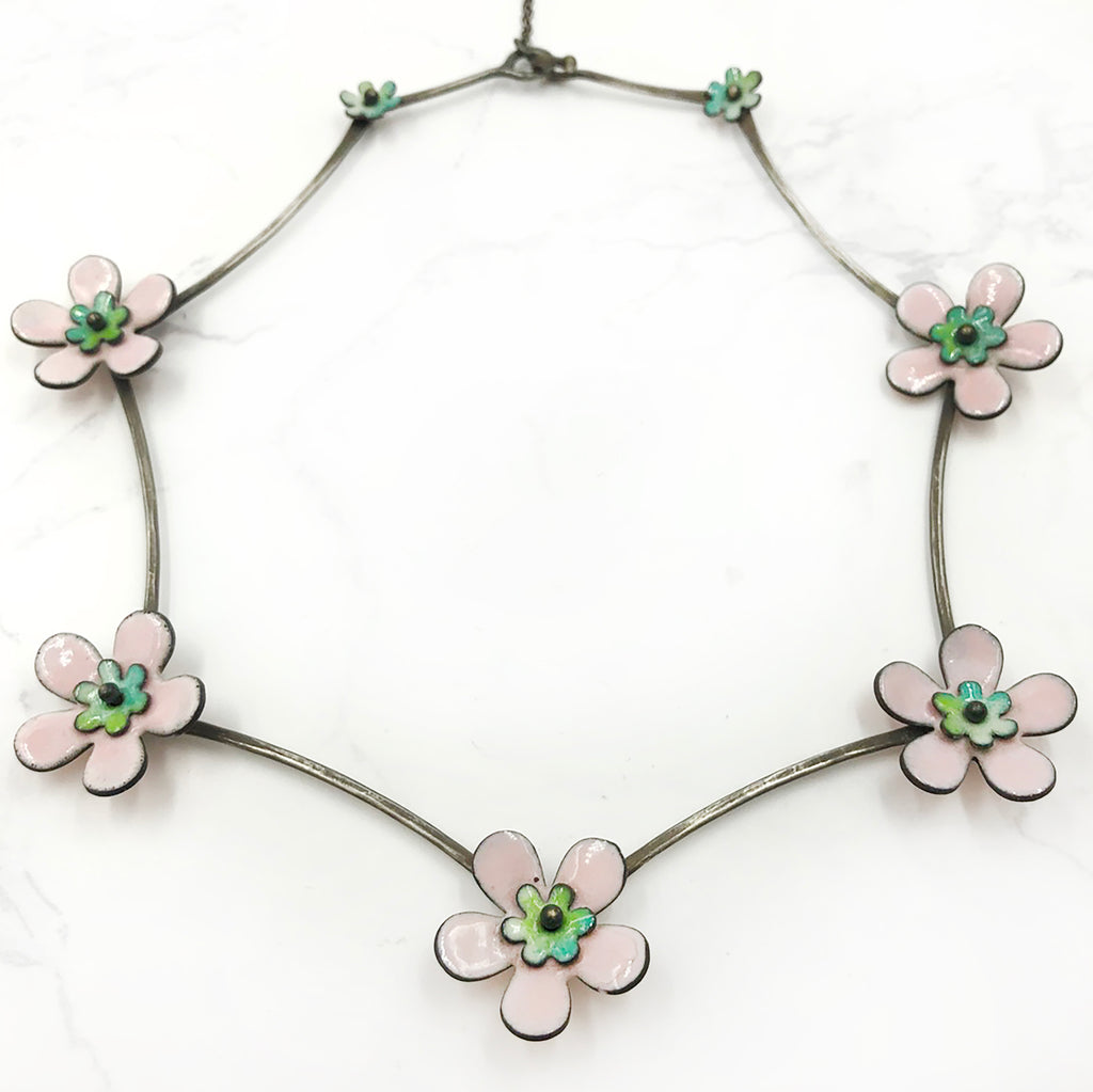 Kirsten Denbow - Big Flower Necklace
