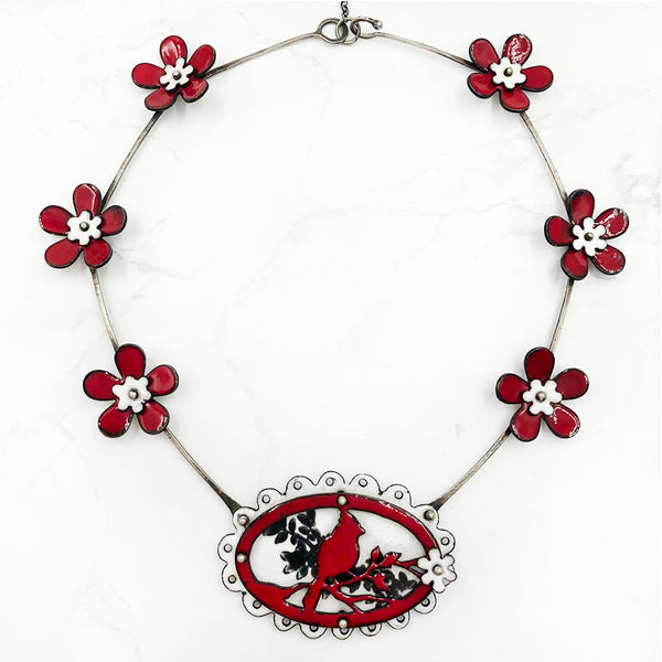 Kirsten Denbow - Cardinal Necklace