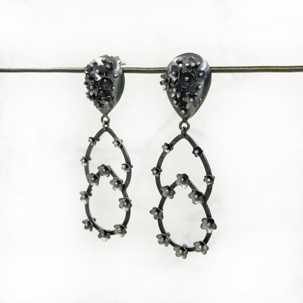 Liz Clark - Tear Droplet Earrings
