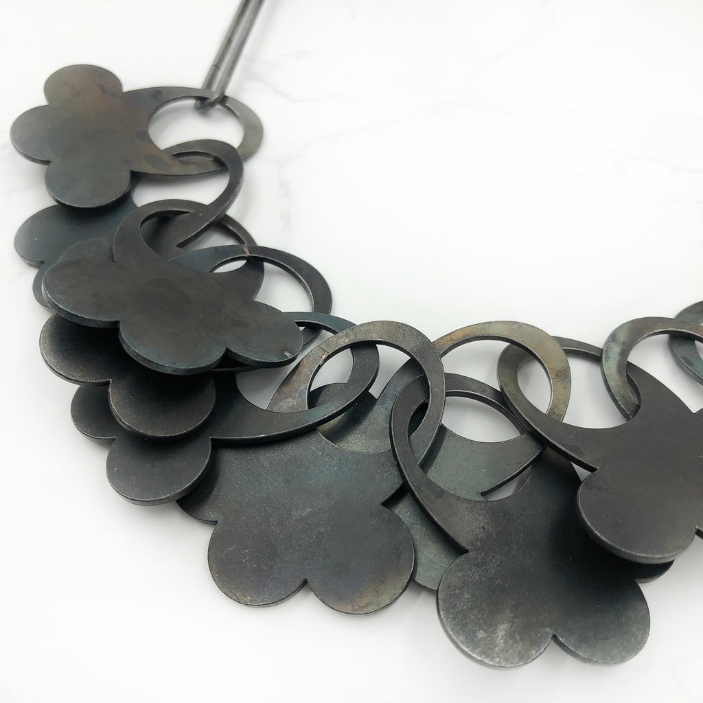 Maia Leppo - Black Cloud Necklace