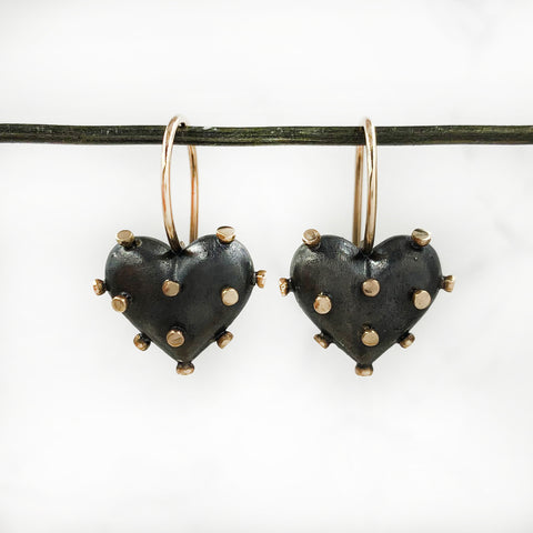 Rachel Quinn - Oxidized Love Sick Earrings