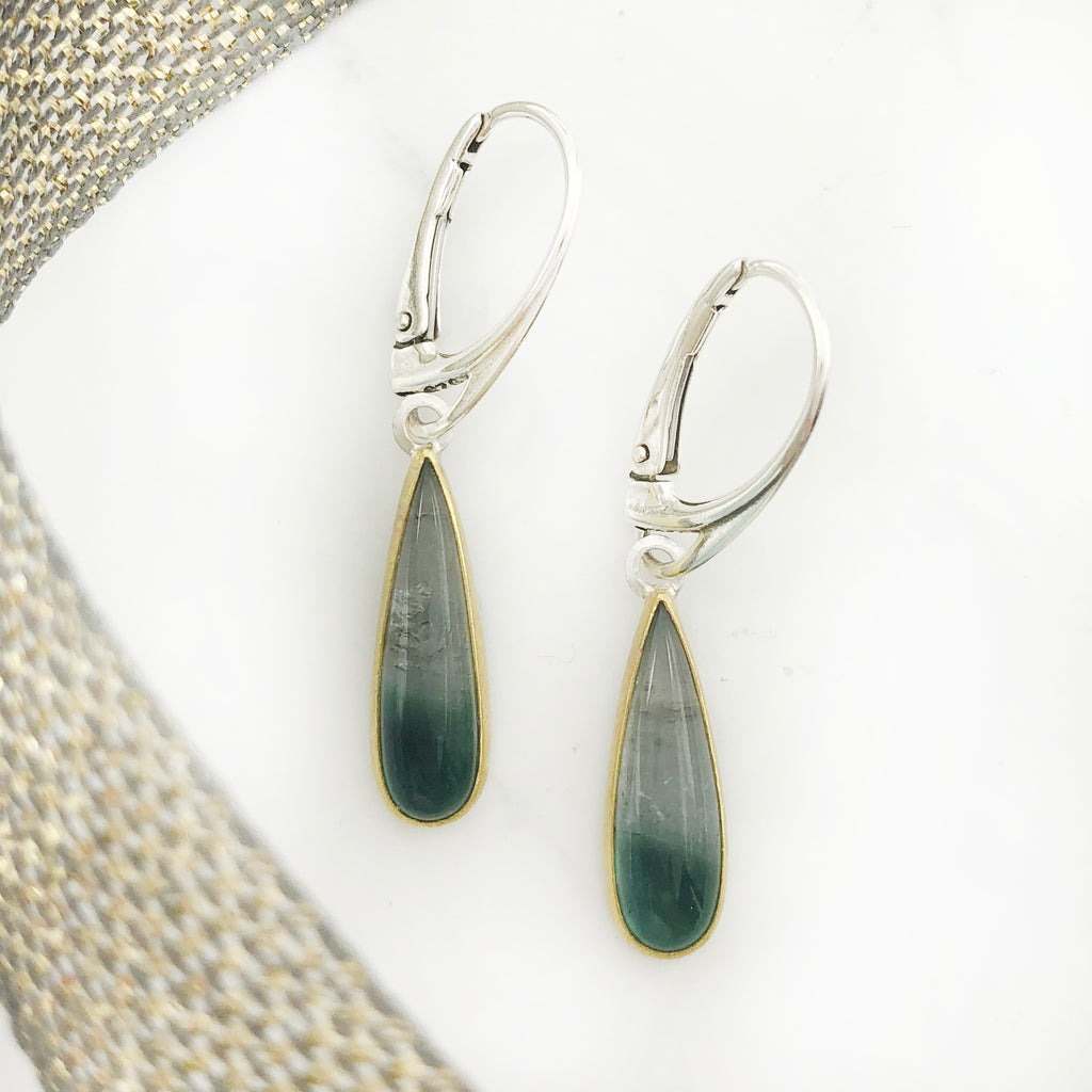 Sam  Woehrmann - Tourmaline Drop Earrings