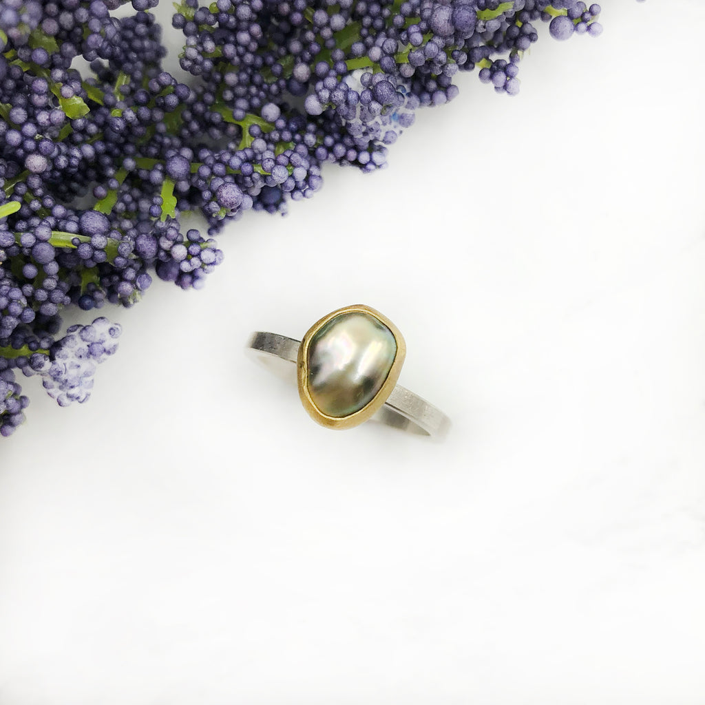 Sam Woehrmann - Black Pearl Ring
