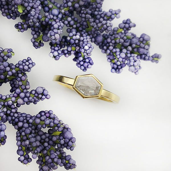 Sam Woehrmann - Diamond Hexagon Ring