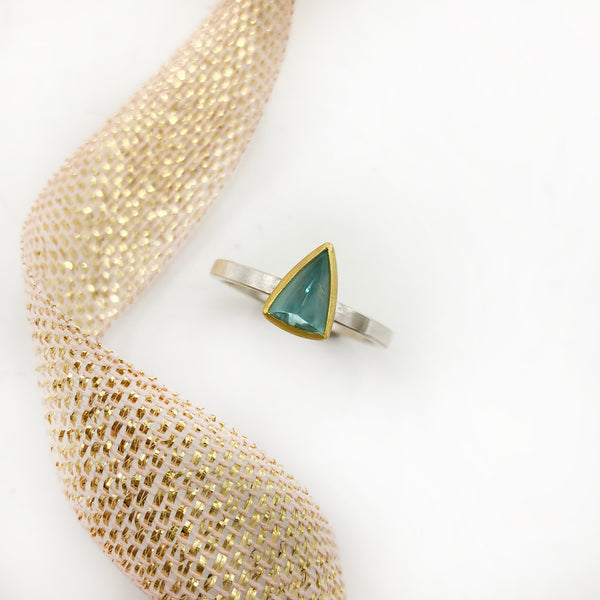 Sam Woehrmann - Triangle Tourmaline Ring
