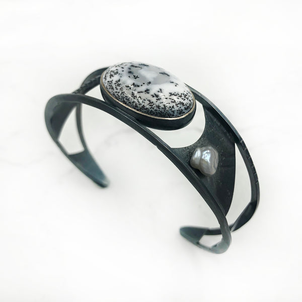 Tammy B Jewelry - Winter White Cuff