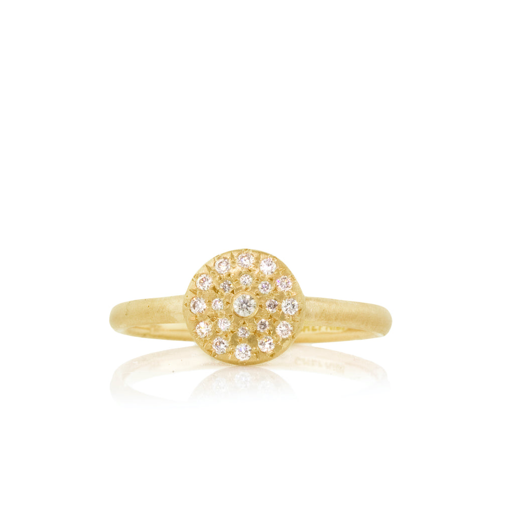 Adel Chefridi - Cluster Diamond Ring