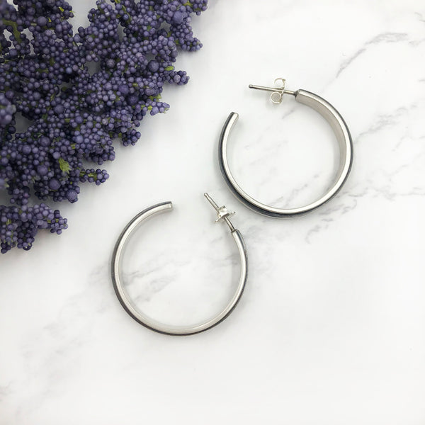 Emily Shaffer - Small Edge Hoops
