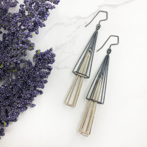 Jera Lodge - Spire Chandelier Earrings