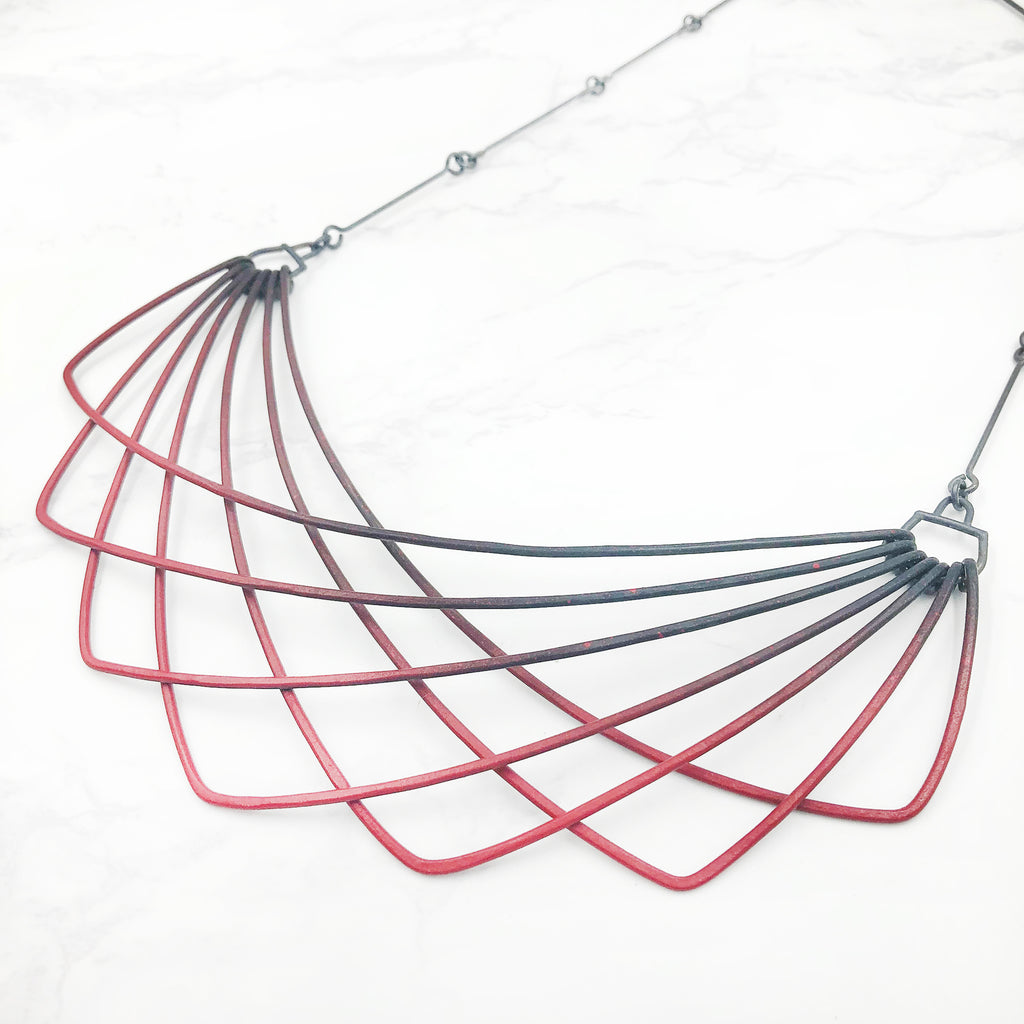 Jera Lodge - Deluxe Red Sway Necklace