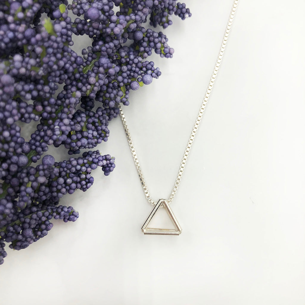 Jera Lodge - Mini Triangle Pendant