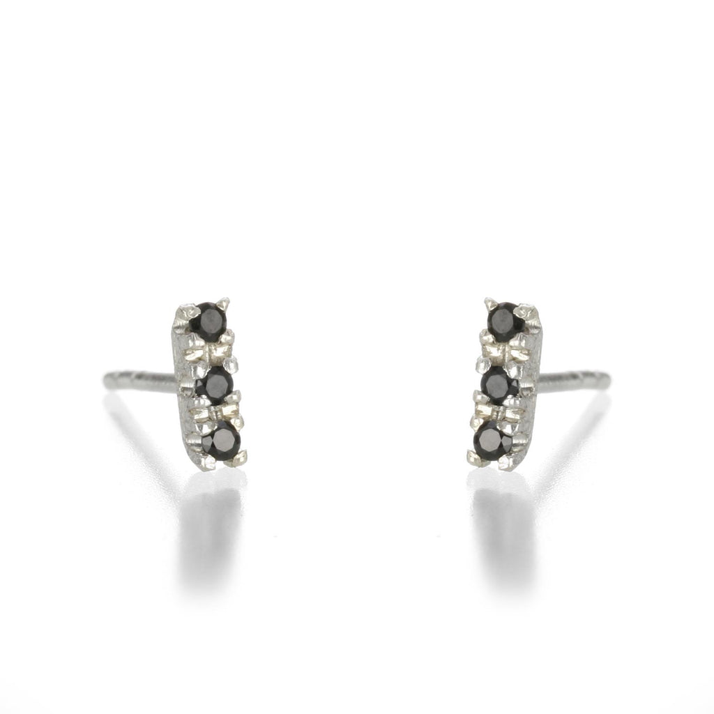 Justin Brown - Three stone spinel studs