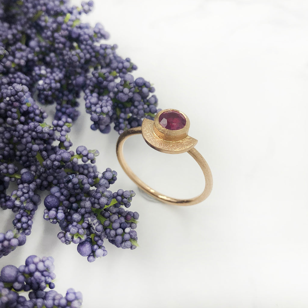 Justin Brown - Ruby Ring