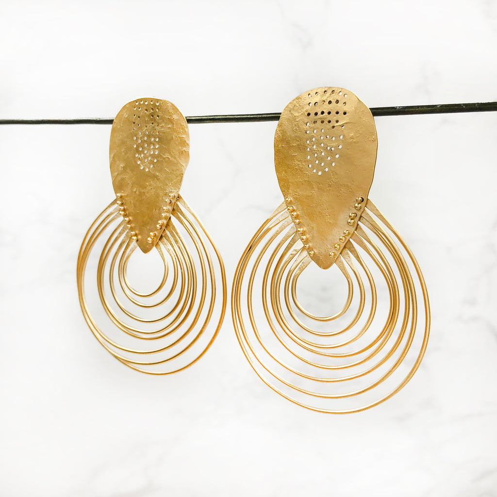 Leia Zumbro - Ripple Earrings