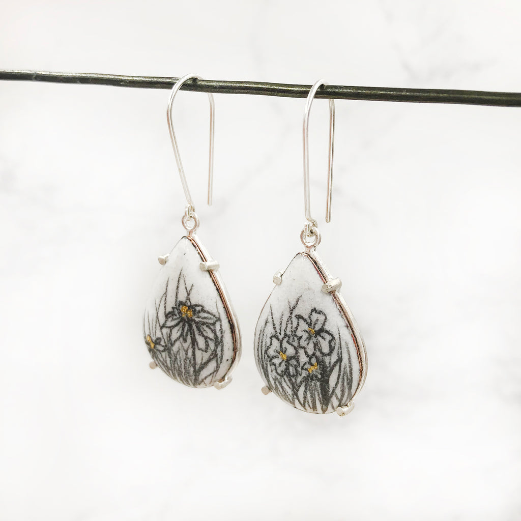 Nicolette Absil - Teardrop Earrings