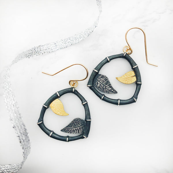 Susan Mahlstedt - Seed Pod Earrings